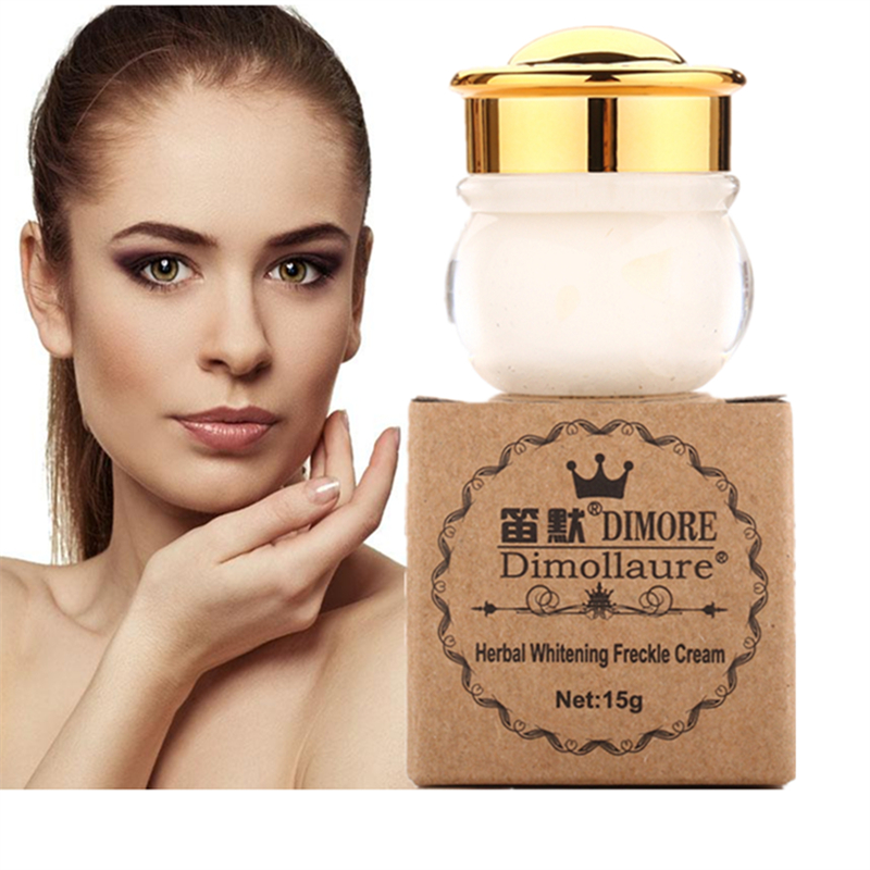 Dimollaure Strong effect whitening cream 15 g Freckles killer speckle age spots melasma sunburn acne spots face cream by Dimore