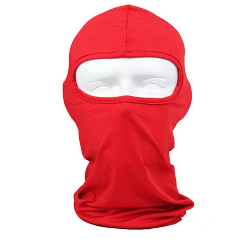 New Classic Lycra Ski Face Mask Bike Bicycle CS Sports Football Mask Balaclava Headband headgear halloween face mask #2a (2)