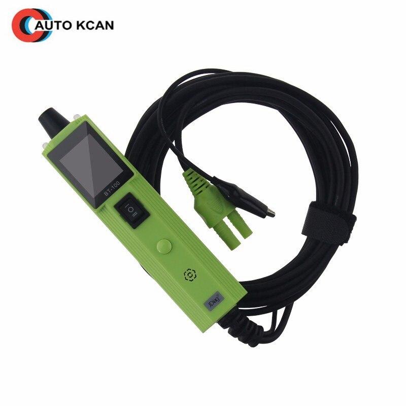 2 pièces JDiag BT100 testeur de Circuit de système électrique BT-100 testeur de batterie même avec PT150 YD208 PS100 DHL livraison gratuite
