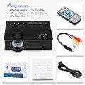 Unic uc46 sem fio wi-fi mini projetor portátil 1200 lumen 800x480 LED Full HD Video Home Cinema Suporte Miracast DLNA Airplay