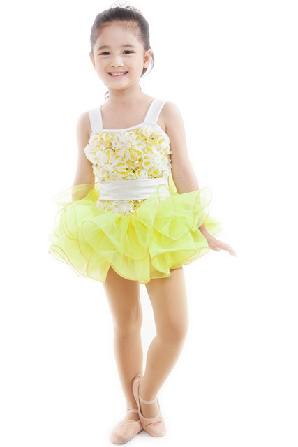 715545c452c1 New Yellow Velvet Ballet Costumes Dress For Children Girls Women ...