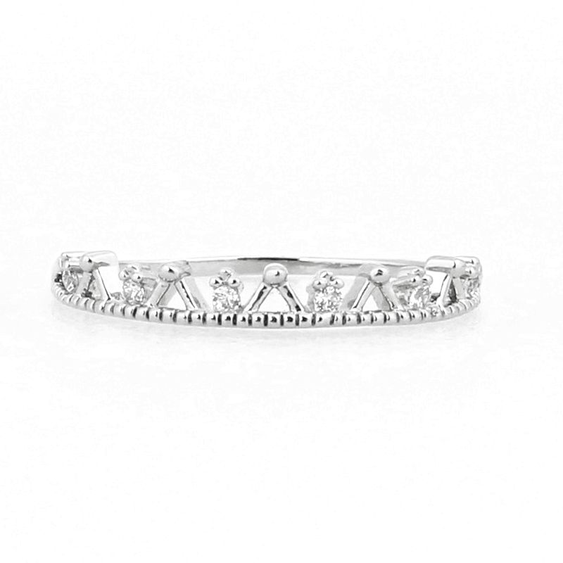 Solid 14k White Gold Natural Diamonds Engagement Wedding Ring Anniversary Women Band solid 14k white gold natural diamonds engagement wedding ring anniversary women band