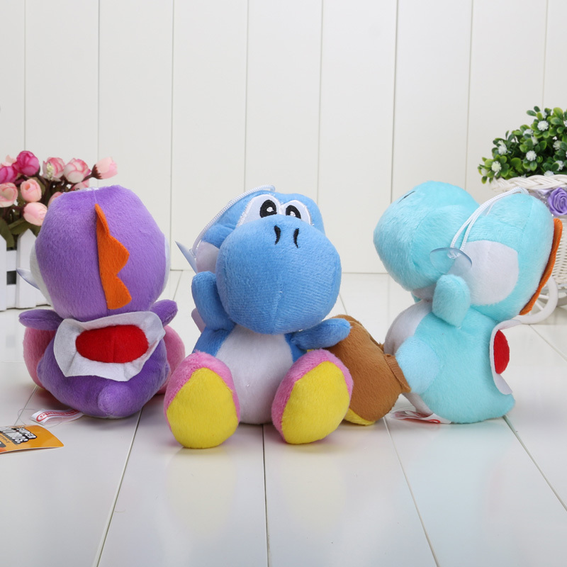 17CM-Super-Mario-Bros-Yoshi-Plush-Stuffed-toys-Dolls-Mario-Plush-Toys-Free-shipping-5