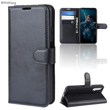 Honor 20 Pro Case Flip Leather Wallet Case Card Holder Phone Coque Black For Huawei Honor20 Pro Honor 20Pro Book Cover Stand bag honor 20 pro honor 20 flip case nillkin qin flip leather cover for huawei honor 20 pro case wallet phone case with card pocket