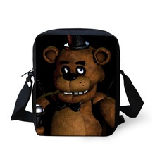 FORUDESIGNS Children School Bags Cartoon Five Nights at Freddy Schoolbag for Boys Girls Mochila Kids Shoulder Book Bag Gifts