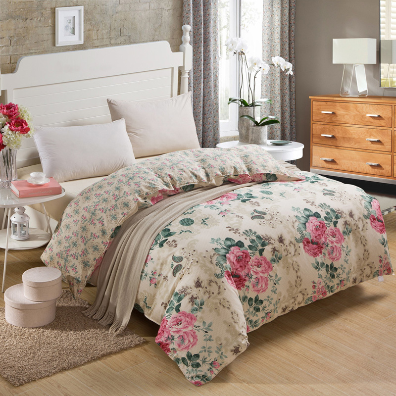 Shabby Chic Linen Bed Sheets