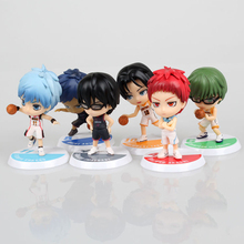 2 Style 6pcs set Anime Kuroko s Basketball Kuroko no Basuke Edition PVC Action Figure tetsuya