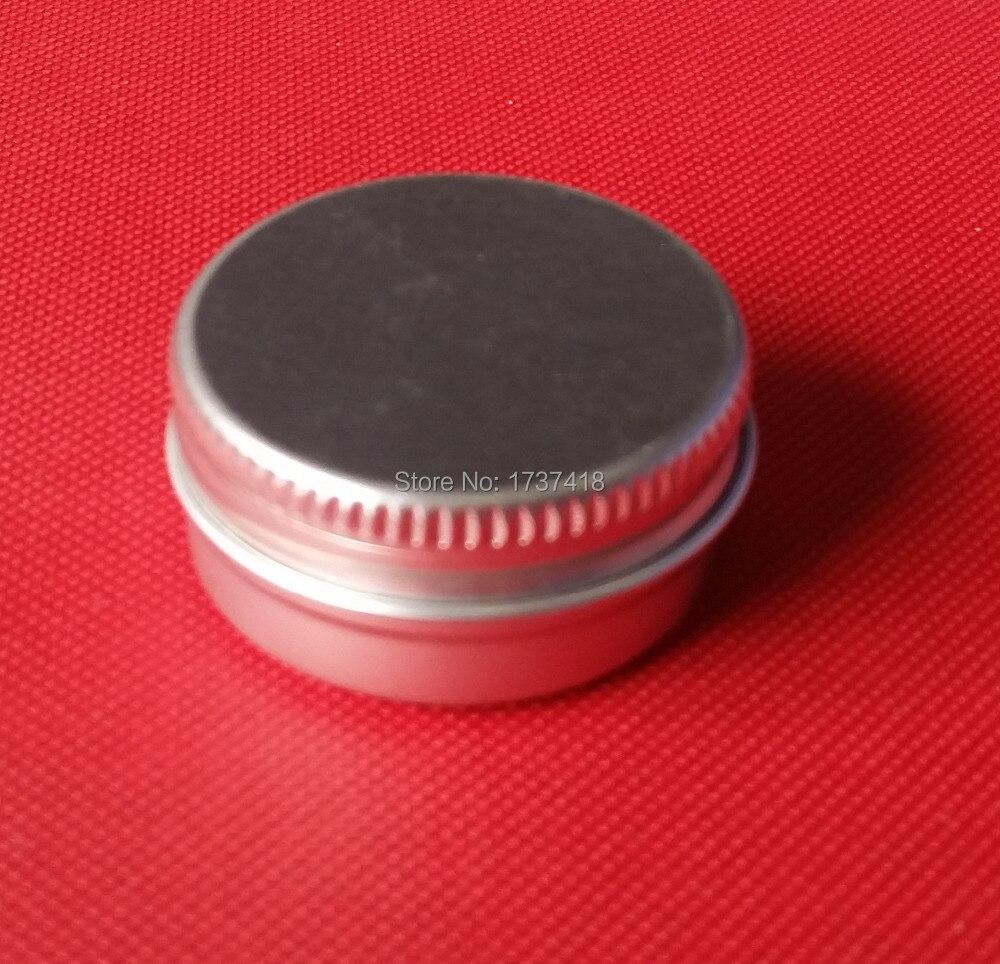250g aluminium cream jars with screw lid cosmetic case jar 250ml aluminum tins aluminum lip balm