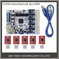 3D Printer Control Board GT2560 Support Dual Extruder Power Than ATmega2560 Ultimaker + 5PCS A4988 + 5PCS Heatsinks Free Ship