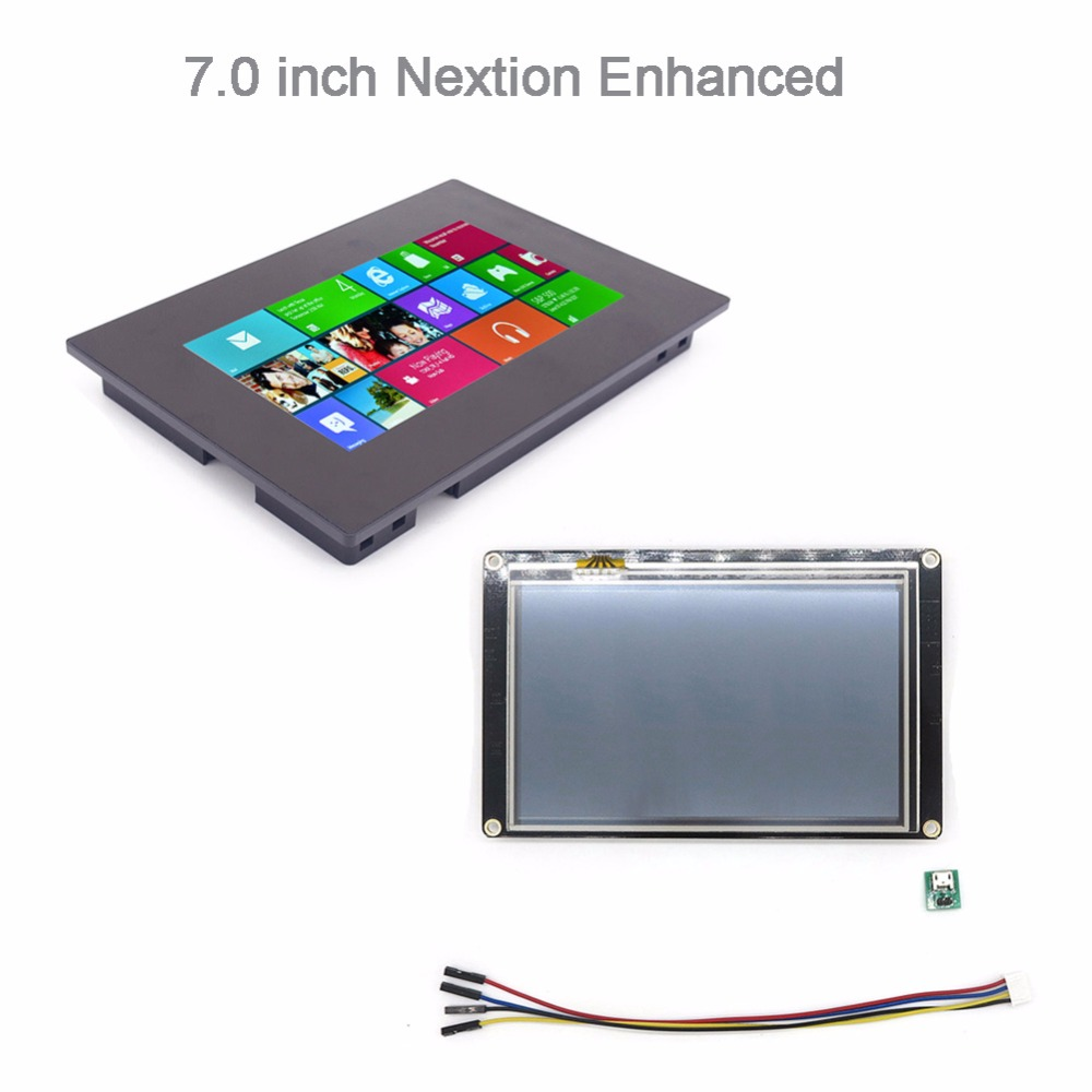 7.0 Nextion Enhanced HMI Resistive / Capactive Multi-Touch Display LCD Screen Panel with / without Enclosure Case FZ28517.0 Nextion Enhanced HMI Resistive / Capactive Multi-Touch Display LCD Screen Panel with / without Enclosure Case FZ2851
