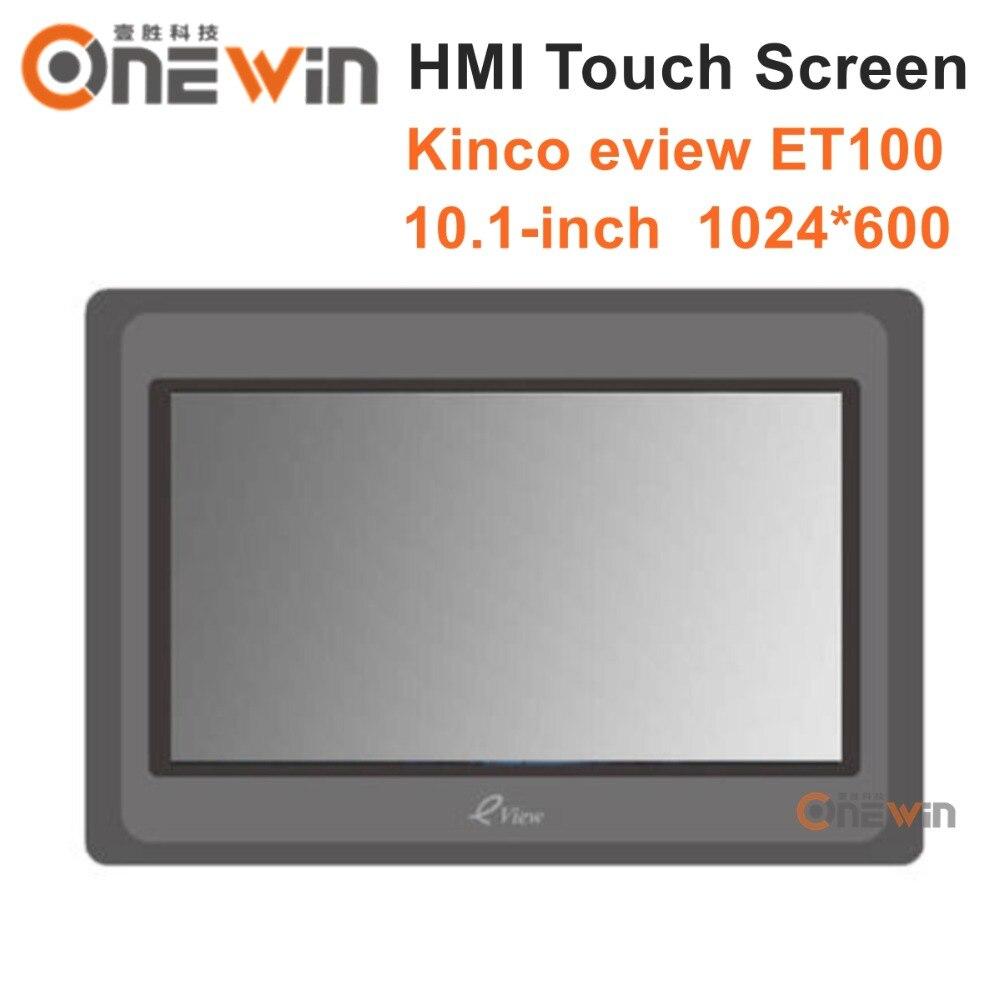 Kinco eview et100 hmi tela de toque 10.1 polegada 1024*600 interface da máquina humana