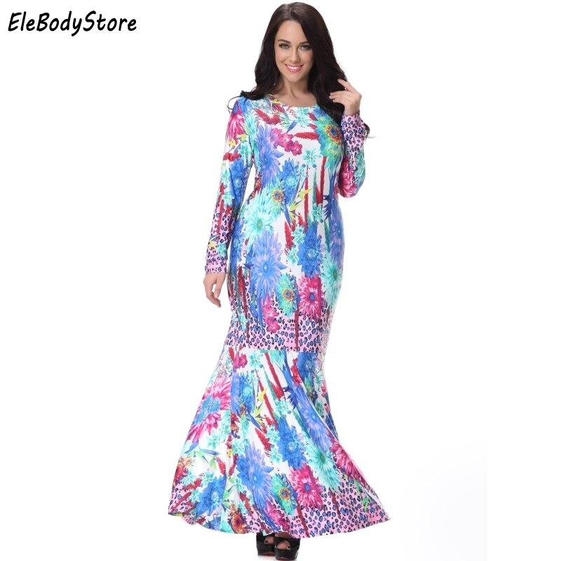 6XL 7XL Plus Size New Style Women Elegant Casual O Neck ...
