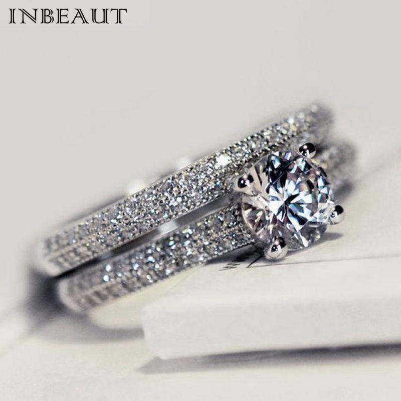 Bague de mariage en pierre pour la marié ...