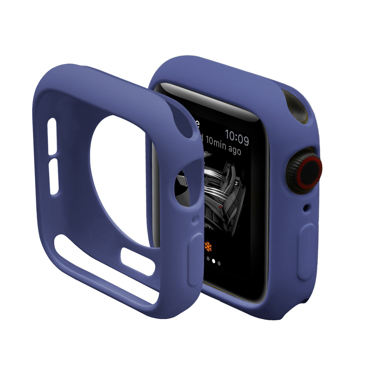 Soft Silicone Case for Apple Watch 45