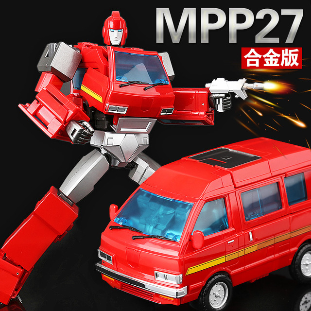 New WeiJiang Transformation MPP27 masterpiece MP27 Oversized alloy metal part Toy car Robot Action Figure model Free shipping