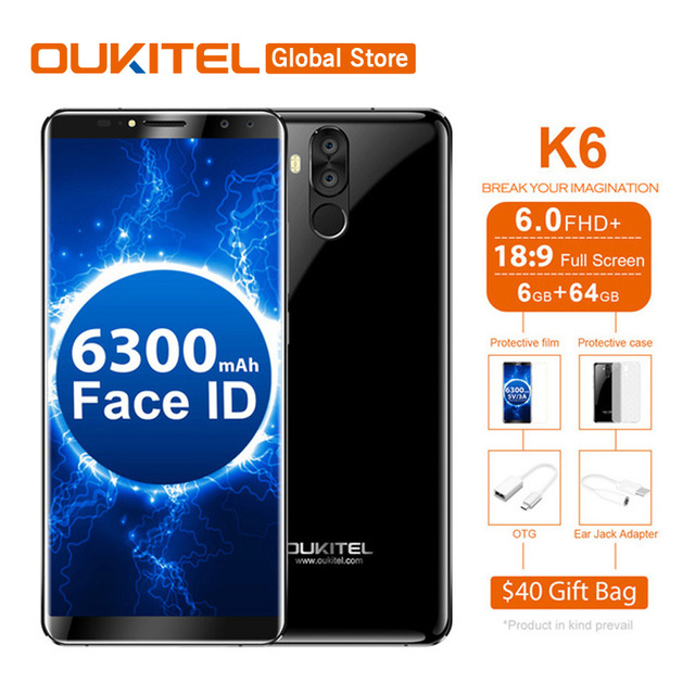 Oukitel k6 189 full display face unlock 60fhd 6gb ram 64gb rom oukitel k6 189 full display face unlock 60fhd 6gb ram 64gb fandeluxe Image collections