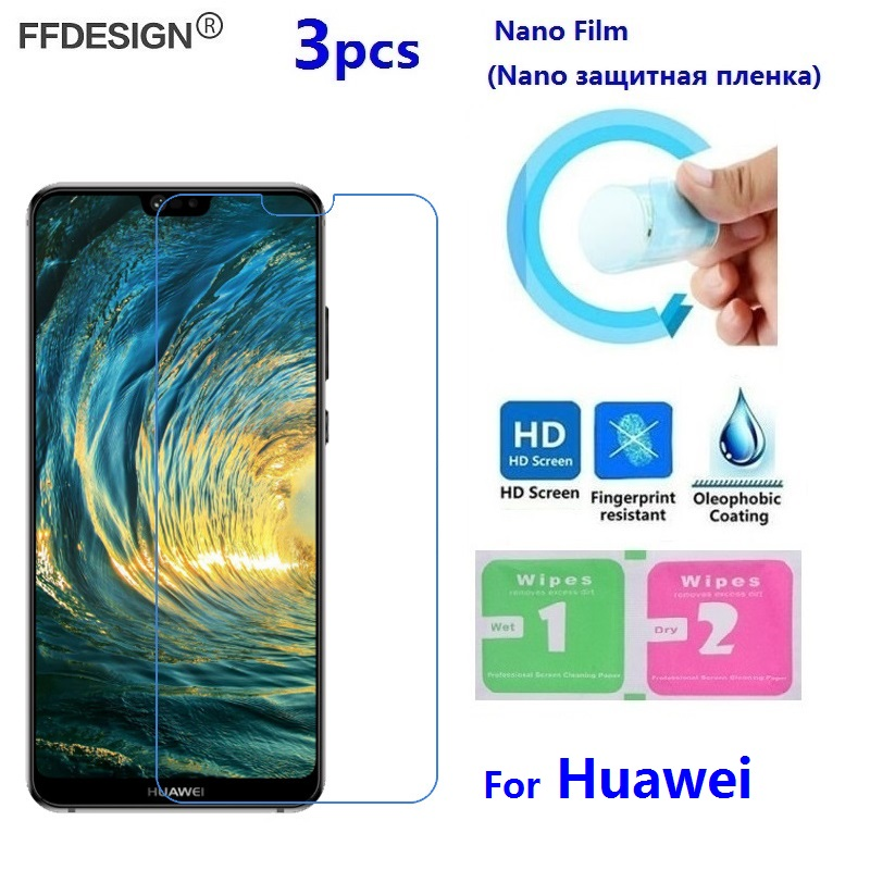 Nano Protective Film For Huawei P8 P9 Lite 2017 P10 P20 Lite Pro (Not Glass) LCD Screen Protector Protection Protect Film Foil