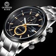OCHSTIN suizo Marca de Lujo Relojes de Los Hombres A Prueba de agua Moda Casual Deportes Reloj de Cuarzo para hombre relojes de primeras marcas de lujo