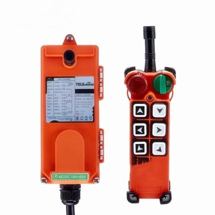 F21-E2(include 1 transmitter and 1 receiver)6 buttons 1 Speed Hoist crane remote control wireless Uting remote control Switch hoist crane remote control wireless radio uting remote control f21 e1b include 1 transmitter and 1 receiver 6 buttons 1 speed