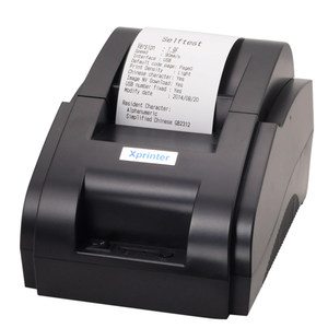 Image 1 - Xprinter 58mm Bluetooth קבלת מדפסת תרמית קופה מדפסות עבור iOS אנדרואיד טלפון נייד USB Bluetooth יציאת עבור חנות
