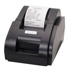Xprinter Impresora térmica de recibos por Bluetooth, 58mm, para iOS, Android, teléfono móvil, puerto USB Bluetooth para tienda