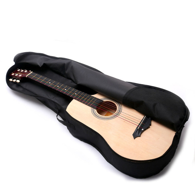 """Waterproof Black Oxford Cloth 41""""Electric Acoustic Guitar Bag Case Bass Carry Shoulder Strap Musical Instrument Accessories 2"""