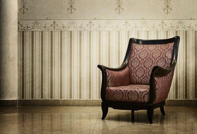Aliexpress Com Buy Laeacco Vintage Chic Wall Sofa Chair Indoor