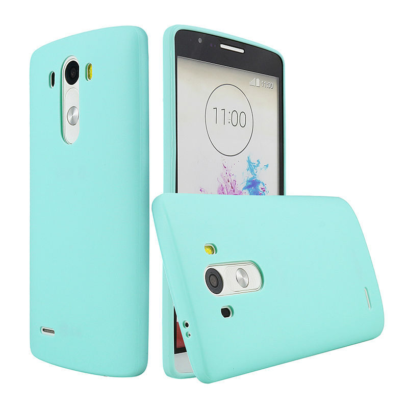 Case For LG G3 D850 D855 D830 Ultra Slim Silicone Solid TPU Skin Rubber Back Cover for LG G3 Case Glossy