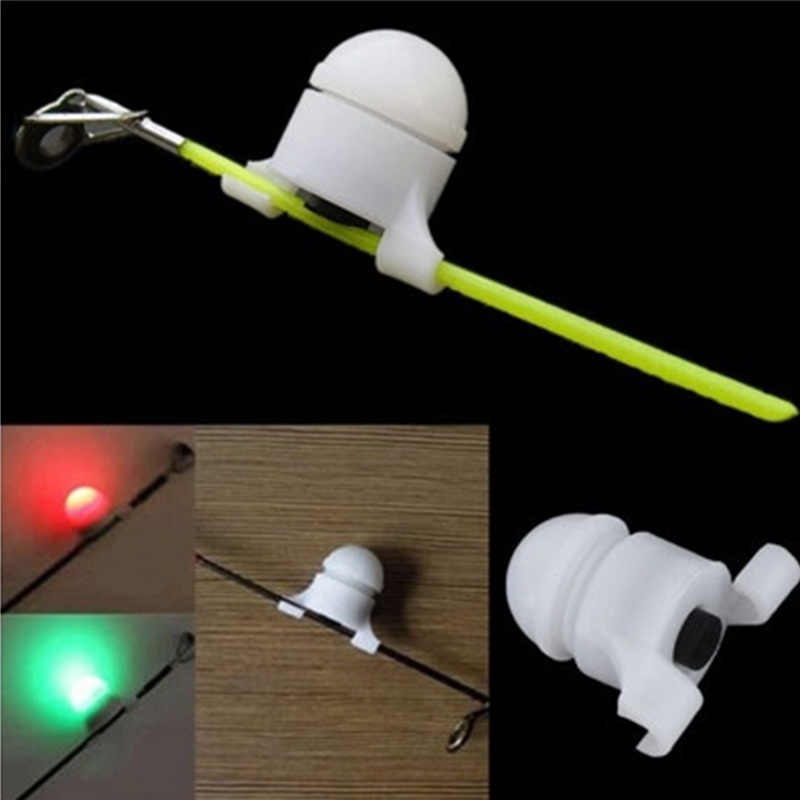 LED Automatic Induction Fishing Alarm Rod Tip Night Fishing Light Auto Recognition Bite Alarm Clip Alert