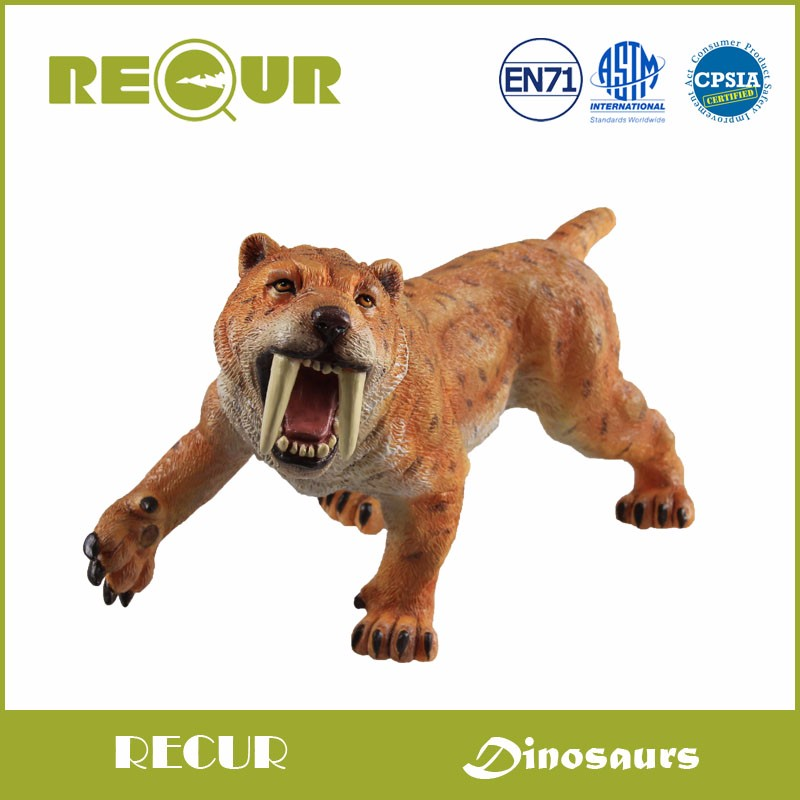 Recur ancient animal model Saber-toothed tiger model Hand Panited PVC Animal figure Toy Gift Collection For Kids and collectors saber gholizadeh navid dinparast djadid and hamid reza basseri malaria transmission blocking vaccine candidate in iran