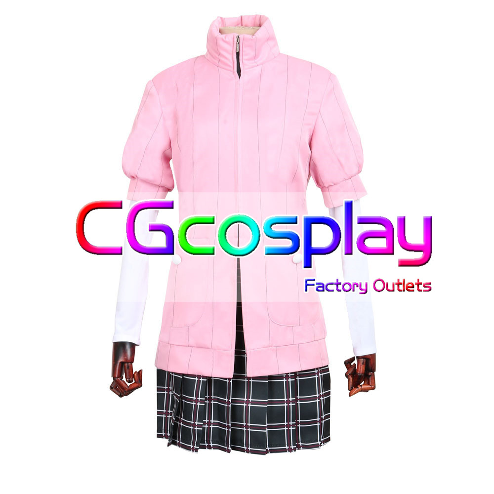 CGCOS aliExpress Persona 5 Haru Okumura Uniforme Manteau Anime Jeu Cosplay Costume Halloween Noël ensemble Complet Nouvelle