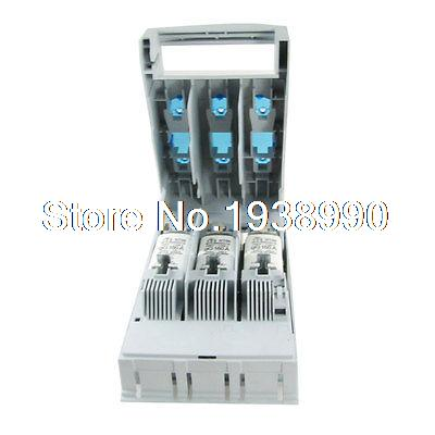 HR17B Series 3 Pole Fuse Isolating Switch 160A 400V/660V/500VAC