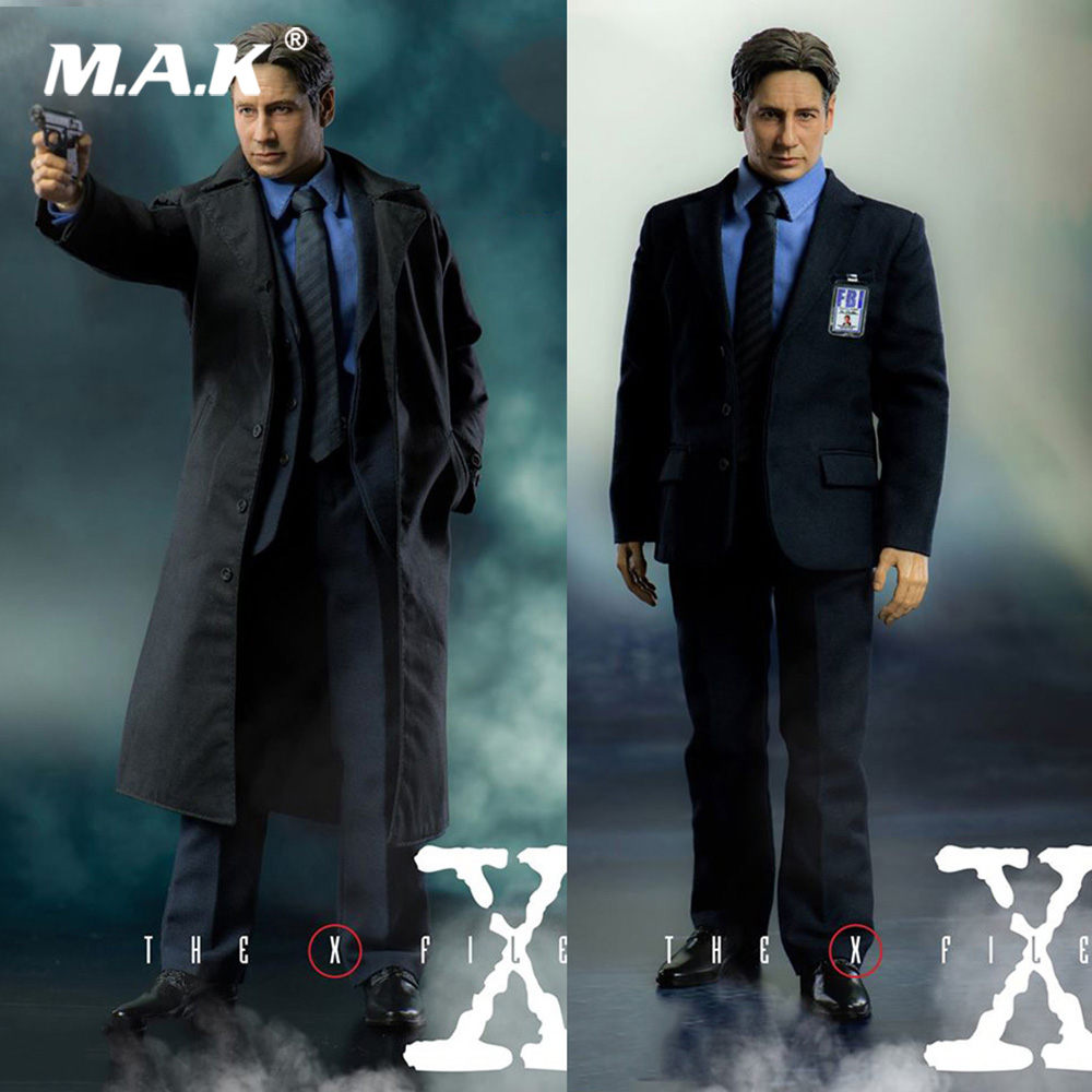 For Collection 1/6 Full Set Action Figure 3Z0024 The X Files Agent Mulder Model Toys Normal/Exclusive Version for Fans Gift dali phantom e 60