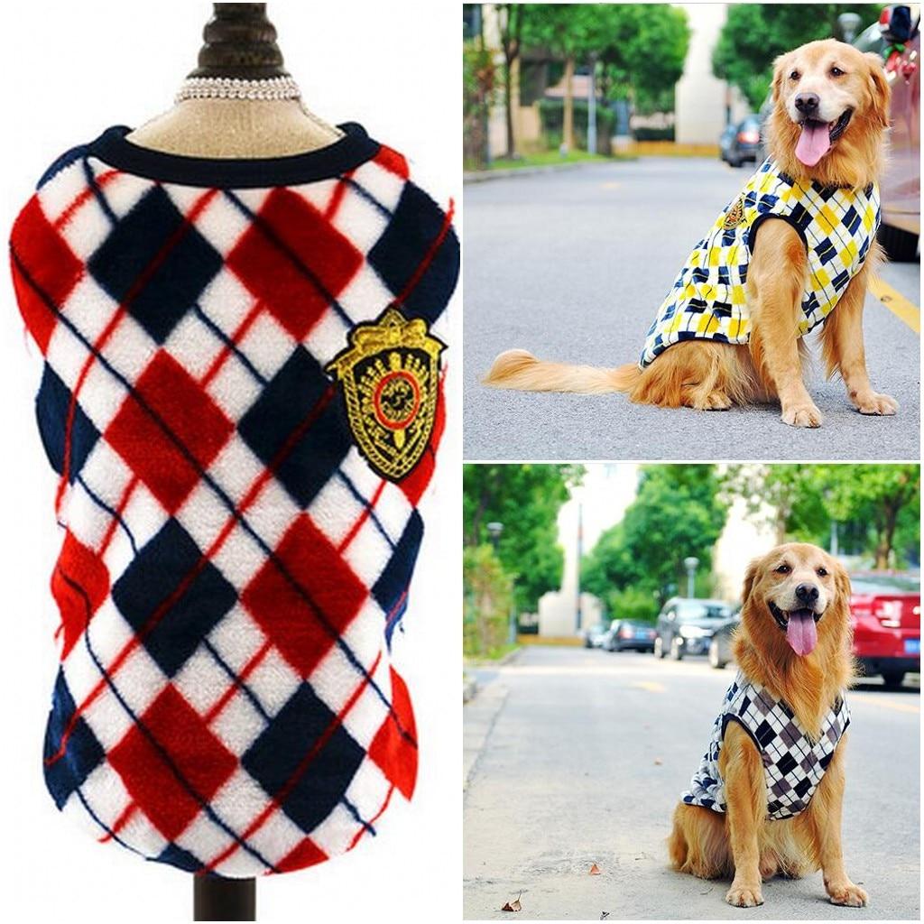 Large Dog Vests Schnauzer Pet Shirt Pitbull Golden Retriever Clothes for Medium Large Dog Pet M ~6XL