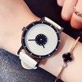 Стильный Поворотный Творческий Часы Кожа Повседневная Женщины Часы Кварцевые Часы Женский Любовник Спорт Наручные Часы Relogio Feminino Montre