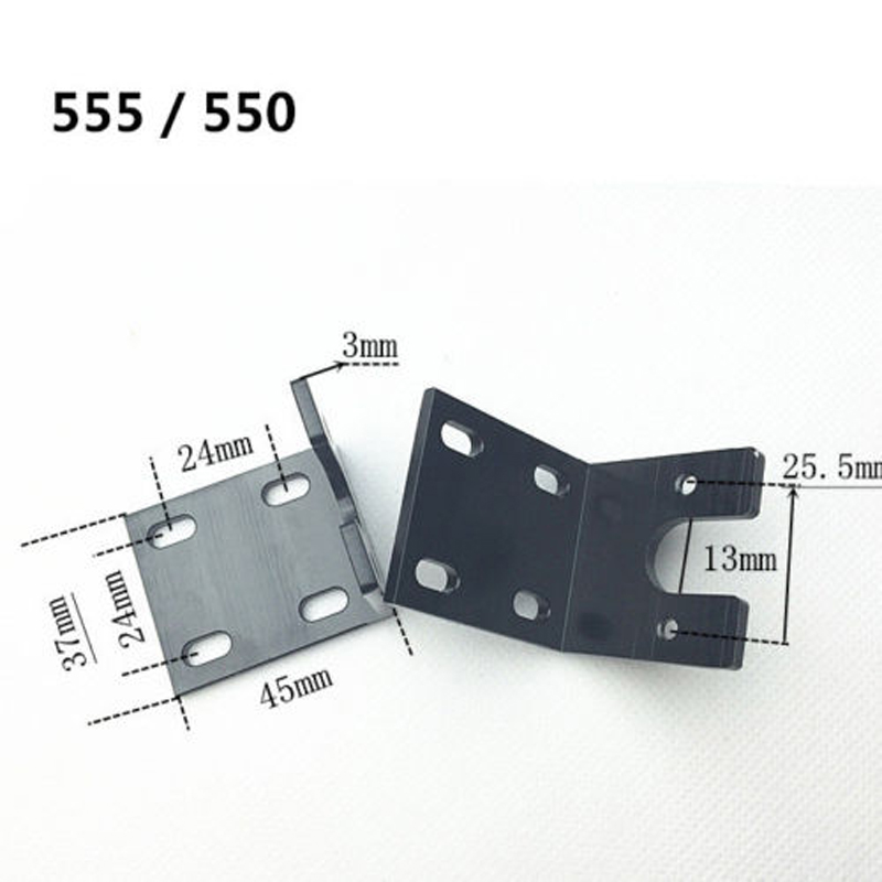 1PC DIY Accessories Aluminum Alloy 550 555 DC Motor Bracket Motor Seat/Holder/Support/Mount for RC Boat Spare Parts