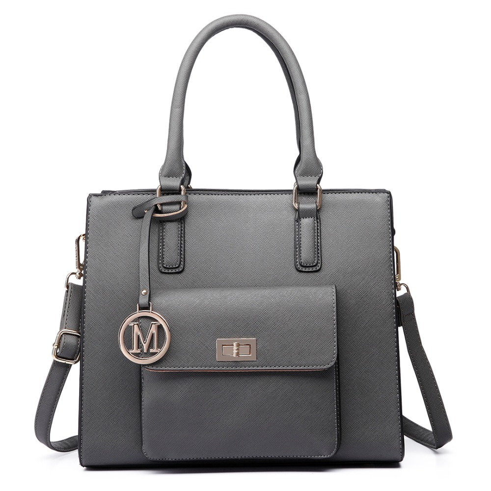 ФОТО Fashion women girl Handbag  high quality faux leather Front Pocket Tote Bag Handbags Top Magnet Button closure crossbody bags