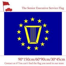 60*90cm 90*150cm o serviço executivo sênior bandeira americana 3x5ft impressão digital bandeira 30*45cm bandeira do carro