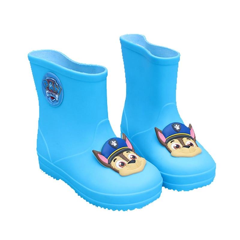PAW PATROL Rain Boots Children Waterproof RainBoots kids Water Shoes Fashion Classic Children's Shoes Non slip Baby Boys Girls