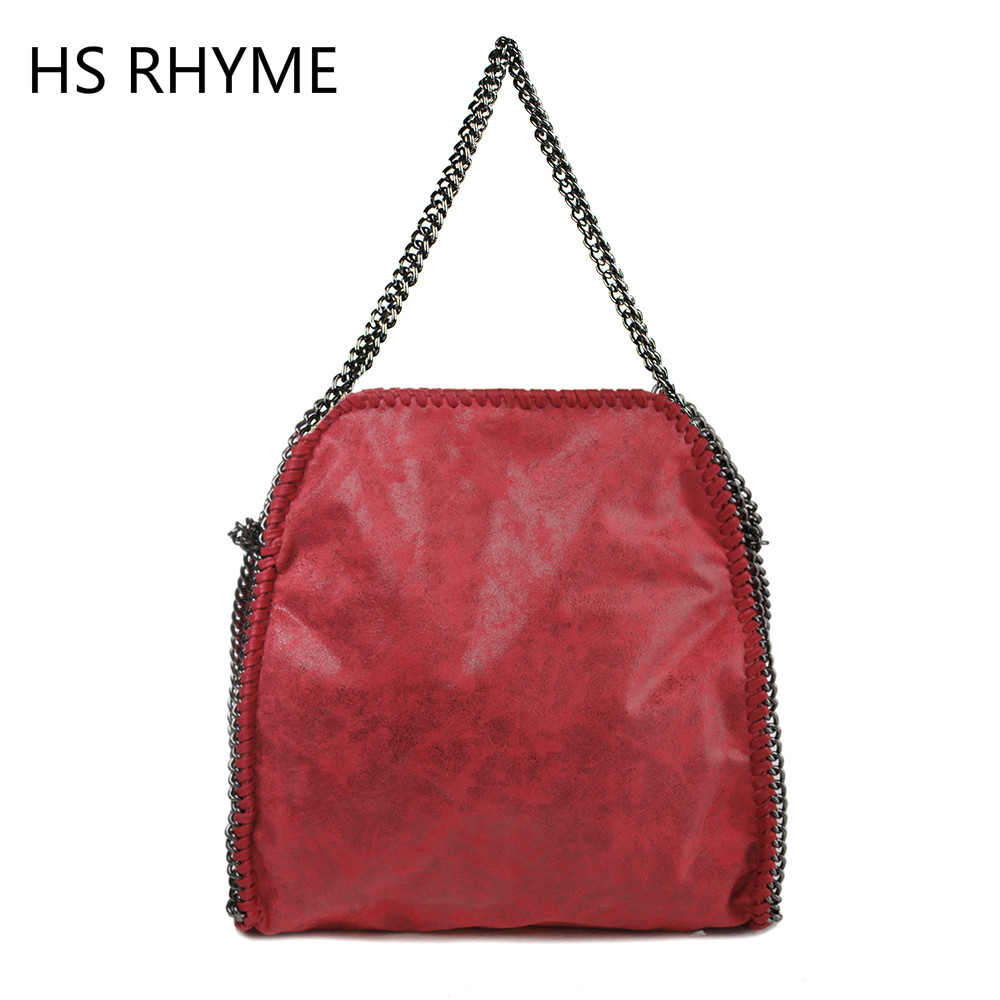 HS RHYME Stella Women Message Bags Fashion Portable Chains Shoulder Bag Bolso Feminina Carteras Mujer Evening