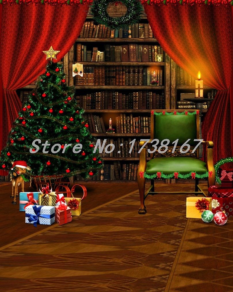 2015 New Newborn  Photography Background Christmas Vinyl  Backdrops 200cm *300cm Hot Sell Photo Studio Props Baby L840