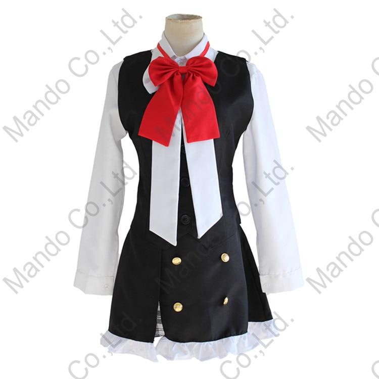 Anime DIABOLIK LOVERS Komori Yui Cosplay Kostüme Frauen Mädchen - Kostüme - Foto 4