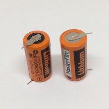 купить MasterFire 20pcs/lot 100% New Brand SANYO PLC Lithium Battery CR17335 3V Batteries With Tabs ( CR17335)  Free Shipping по цене 5405.24 рублей
