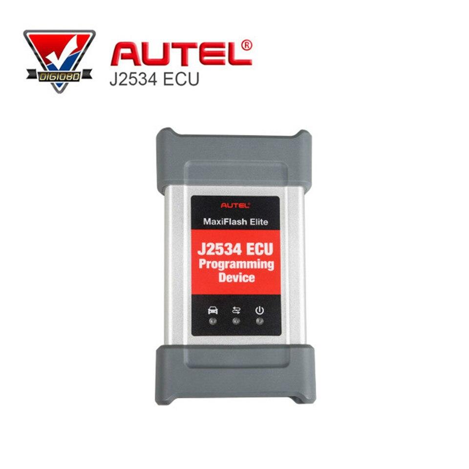 Новое поступление autel Maxiflash elite J2534 ЭБУ программирования инструмент работает с autel Maxisys 908 P инструмент диагностики Бесплатная доставка