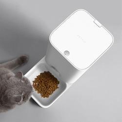 Xiaomi Mijia inteligentny kotek karmnik dla zwierząt w pełni wymienny zmywalny świeżo przechowywane 1.5 kg karma dla kotów Wifi bezprzewodowy dla zwierząt domowych inteligentnego domu 4