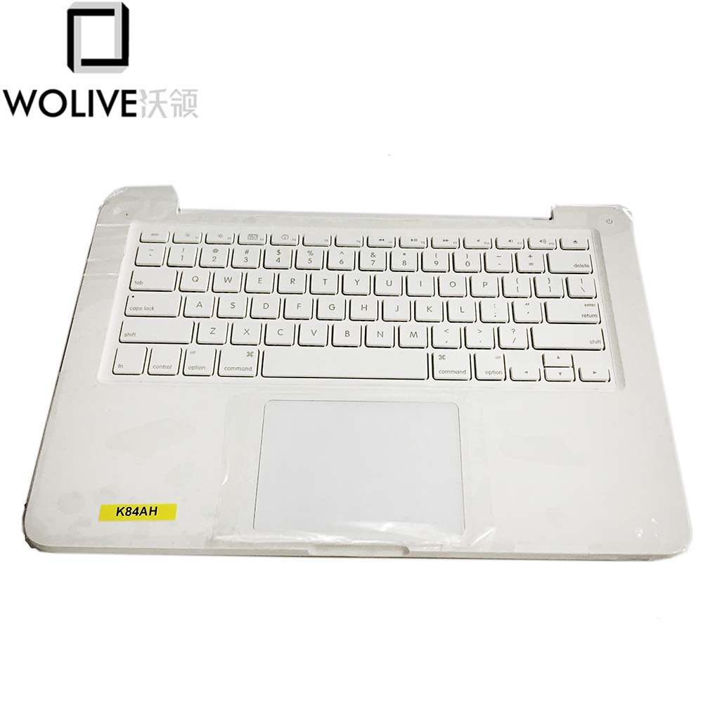 "Wolive Top Case With US  Keyboard For Macbook 13"" Unibody A1342 Topcase US Layout"