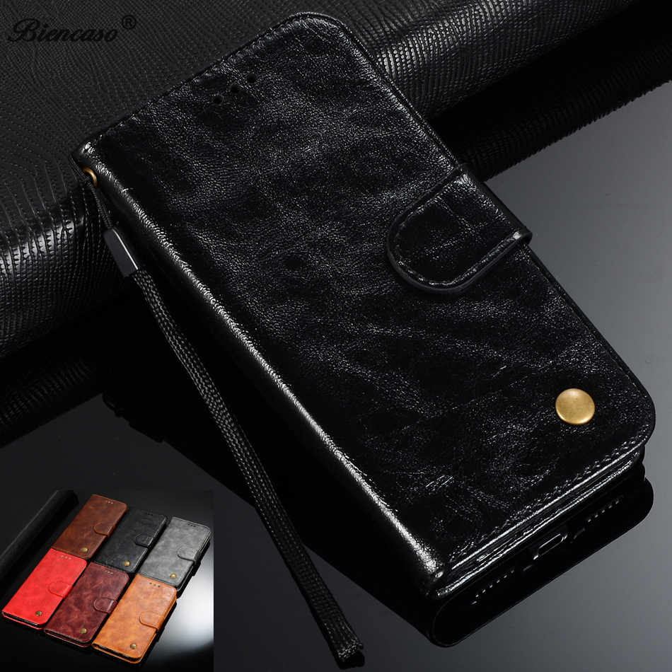 Retro Leather Wallet Case For Huawei Honor 7S 7C  7A Honor Play 8A Y5 2018 Y6 PRO 2019 Y7 Prime P9 P8 Lite 2017 Phone Cover