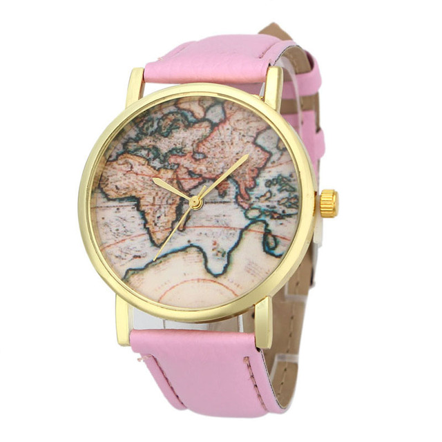 Superior vintage earth world map watch alloy women analog quartz superior vintage earth world map watch alloy women analog quartz wrist watches sep 12 sciox Choice Image