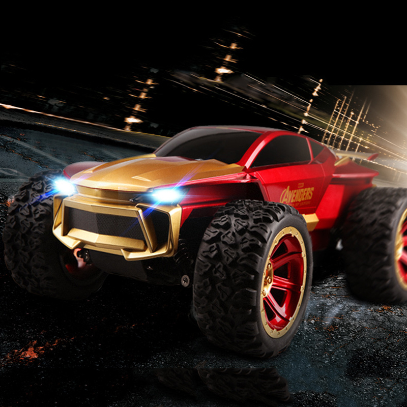 20km/h 4WD High-speed Off-road Remote Control Car Four-wheel Drive Climbing Racing Car RC Toys for Children Gifts mini rc car 1 28 2 4g off road remote control frequencies toy for wltoys k989 racing cars kid children gifts fj88