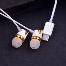 Digital USB Type-C Earphone Letv Hifi Earphone Wire Control Type C Digital Earphone For Letv 2 Letv 2 Pro X620 Letv MAX2